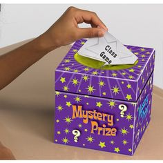 Kids love working for mystery rewards-in return focus on positive behaviors to reinforce