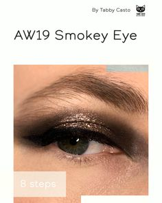 Smokey Eye Makeup Look, Makeup Looks, Eylure Lashes, Lash Curler, Lengthening Mascara, Eye Primer, Glitter Eyeshadow, Eye Make Up, Cool Eyes