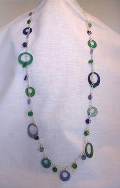 Modern Shrinky Dink Necklace