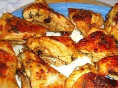 Kurczak z piekarnika rumiany i mięciutki - YouTube