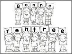 Bonne rentrée Bonne rentrée - Back To School First Day Of School Activities, Book Activities, School Life, School Fun, School Ideas, French Flashcards, Core French, Graduation Day, School Photography