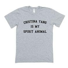 Cristina Yang is My Spirit Animal