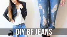 Envie de personnaliser votre jean boyfriend de façon unique? Créez des trous pour lui donner un look rock sans être vulgaire. Voici une vidéo simple et très sympa pour customiser de façon efficace votre jean …