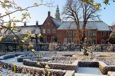 Prinsentuin on a Winter's day in Groningen, Holland