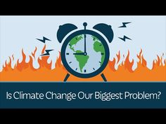 Is man-made climate change our biggest problem? Are the wildfires, droughts and hurricanes we see on the news an omen of even worse things to come? -Bjorn Lomborg  #PragerUniversity