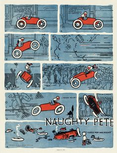 Charles Forbell, « Naughty Pete », New York Herald, 31 août 1913.