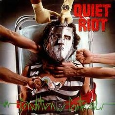 """Glam Metal veterans QUIET RIOT released their fourth album """"Condition Critical"""" 35 years ago today. Which is your favorite track on the album? Rock And Roll, Used Vinyl Records, Lp Vinyl, Metal Health, Nostalgia, Pochette Album, Glam Metal, Metal Art, Metal Albums"""