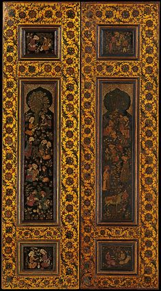 India - late 19th century door