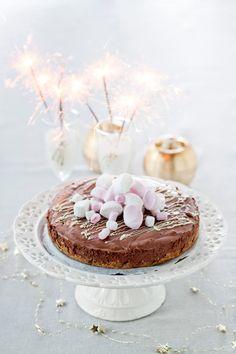 Suklaajuustokakku | K-ruoka #uusivuosi #juhlapöydään