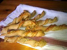 .. z lásky k vareniu ...: Chlebové tyčinky so syrom a bylinkami