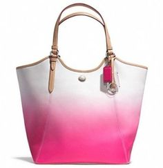 Coach Peyton Ombre F29283 Pink White Hand Tote Bag $250