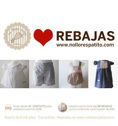 Llegan las rebajas a www.nollorespatito.com con descuentos desde el 30%