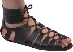 Adult Roman Sandals - DIY kit, fairly cheap, and can easily have a pattern taken from them.