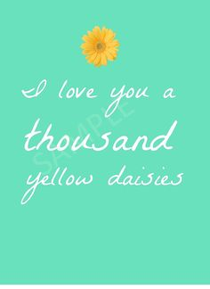Gilmore Girl Quote I Love You A Thousand by TheLOLCollection