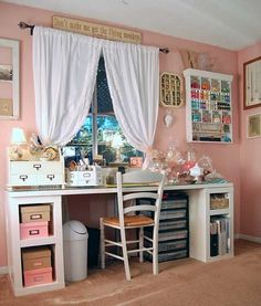 - Making a Scrapbooking Area, this is going to be the color for my one day scrapbook room
