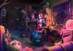 LOL - Sewn Chaos Orianna's Private Room by JouFang