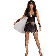 Halloween Classical Goddess Of War Costume Sexy Halloween Fancy Dress Gladiator Halloween Costume, Goddess Halloween Costume, Gladiator Costumes, Queen Halloween Costumes, Goddess Costume, Adult Halloween, Women Halloween, Halloween Carnival, Halloween Alley