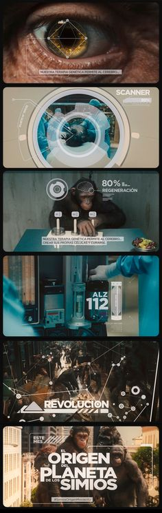 Mcp. Rise of the planet of the apes. Portfolio Diego Troiano. Currently working in FOX LATIN AMERICAN CHANNELS VP: André Takeda. Art Director: Nicolas Sarsotti. Creative Director: Soledad Podesta. Script: Adriana Lodolo Fiorini. Edition: Sol Castro Design and animation: Diego Troiano. Music: Julian Garcia. All work is owned by Fox Latin American Channels.