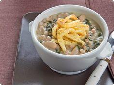 Zuppa di farro e bietole con trippa finta.