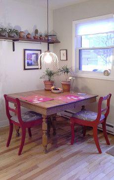 Résidence D-L _ Cuisine eclectic-dining-room