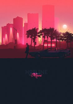 Hotline Miami poster ( Unofficial ) Wanted to give the colour scheme a go and hotline miami was perfect for it, Let me know what you think, and head over to my page: Http://www.facebook.com/Michybapsdesigns Thank you, Mich