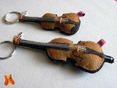 Felt Violin and Cello