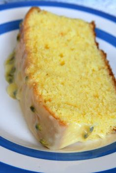 Orange and Passionfruit Pound Cake (Maggie Beer)