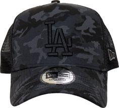 LA Dodgers New Era Camo Team Trucker Cap – lovemycap 46348af6e3e