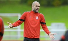 Josep Pep Guardiola : Roma game offers a chance to step towards round of. Pep Guardiola, Games, Long Sleeve, Sleeves, Mens Tops, T Shirt, Fashion, Bavaria, Supreme T Shirt