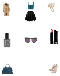 """""""Untitled #2435"""" by fatmasuroor ❤ liked on Polyvore featuring Fendi, WearAll, Ross-Simons, rag & bone, Casadei, STELLA McCARTNEY, Lauren B. Beauty and Bare Escentuals"""