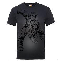 Marvel BILMC000141 - Camiseta manga corta, con manga corta para hombre, color negro, talla S #camiseta #realidadaumentada #ideas #regalo