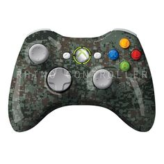 XBOX 360 controller Wireless Glossy Custom Painted- Without Mods Assassin's Creed Black, Assassins Creed Black Flag, Assassins Creed Unity, Video Games Xbox, Xbox One Games, Xbox One S, Xbox Live, Xbox 360 Controller, Xbox One Console