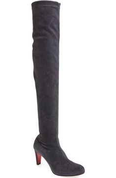 Christian Louboutin 'Alta' Over the Knee Boot available at #Nordstrom