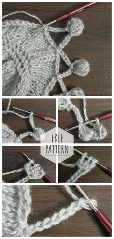 How to crochet pompons to trim the edge of the productCrochet PATTERN/ Crochet small flowers Crochet Edges to Have in Your ArsenalHow to Crochet the Edge.Border Stitch Pattern │by… Crochet Edging Tutorial, Crochet Edging Patterns, Crochet Lace Edging, Crochet Motifs, Crochet Shawl, Easy Crochet, Stitch Patterns, Free Crochet, Crochet Trim