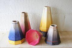 large colourful wooden pendant light by factorytwentyone   notonthehighstreet.com