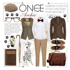 """""""ONCE UPON A TIME"""" by celine-diaz-1 ❤ liked on Polyvore featuring Whimsical Watches, Børn, Uniqlo, Polo Ralph Lauren, Goorin, DUBARRY and Once Upon a Time"""