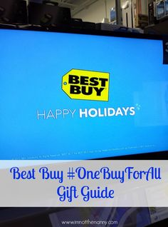 Best Buy Gift Guide #OneBuyForAll #shop #cbias #tech