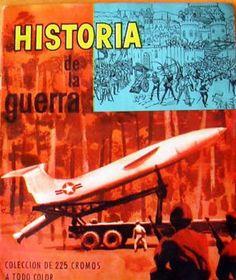 """COLECCIÓN CROMOS """"HISTORIA DE LA GUERRA"""" 1961"""