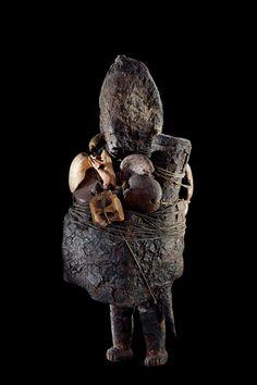 Fon vodun sculpture, Benin - Collection Anne and Jacques Kerchache Photo © Yuji Ono Courtesy of the Fondation Cartier pour l'art contemporain, Paris African Voodoo, African Art, Fondation Cartier, Black Magic Spells, African Sculptures, Art Premier, Voodoo Dolls, Indigenous Art, West Africa