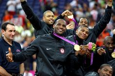 Aug. 12, 2012 Wins Gold with Team USA at London Olympics Team USA went undefeated in the 2012 Olympic Games and beat Spain 107-100 in the gold medal game.