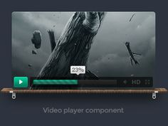 50 Best Video players images in 2015   Ui design, User interface, Up