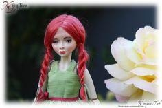 """Мэри в новом образе! Проект """"50 оттенков рыжего"""" #dolls #doll #artdolls #authorsdoll #handmade #куклы #авторскиекуклы #хендмейд #ручнаяработа #куклыручнойработы #коллекционнаякукла #коллекционирование #ketringuv #кэтрингюв #эксклюзив #куклымира #luxury #куклыручнойработы #запорожье"""
