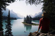 Spirit Island at Maligne Lake near Jasper Canada. So gorgeous!