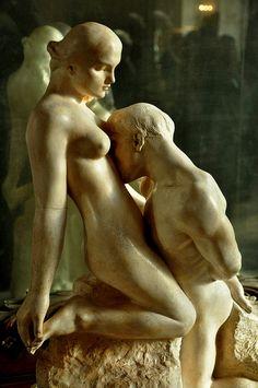 """la-reine-est-morte: """" L'Eternelle Idole, Rodin, 1893, musée Rodin, Paris. """""""