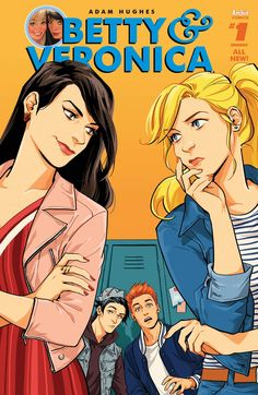 *High Grade* (W) Adam Hughes (A) Adam Hughes (CA) Audrey Mok It's Betty vs…
