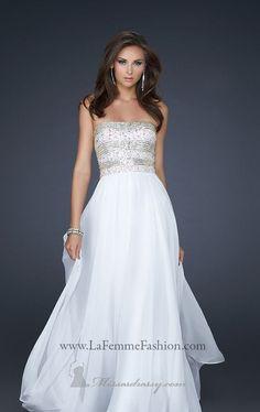 La Femme 17657 Dress