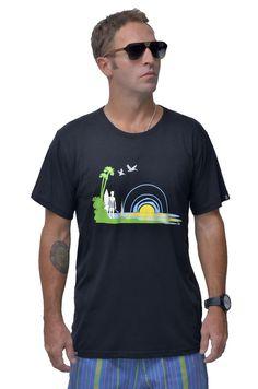 Surf Life Mens Bamboo Tshirt
