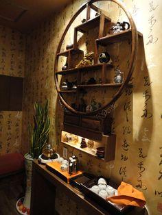Asian shelf