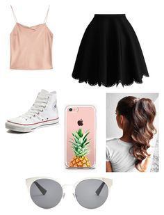 """""""How to Wear Converse"""" by stylistgirl329 on Polyvore featuring Alice + Olivia, Converse, The Casery and Christian Dior"""