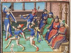 The Hague, MMW, 10 A 11	 fol. 48v Book 2, 8 Men and women dancing (1st of 2)